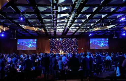 The 2019 National iAwards Gala Dinner and Awards Ceremony.